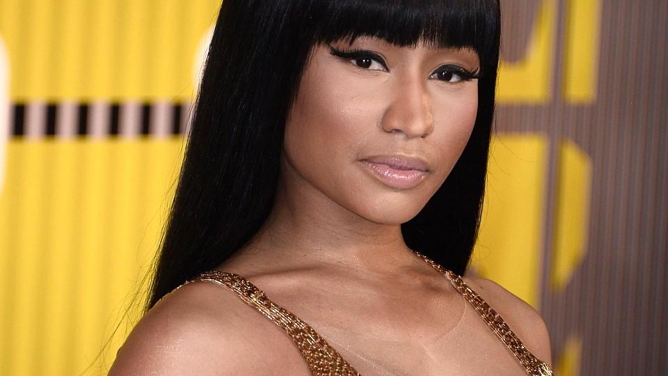 Nicki Minaj ist Mama