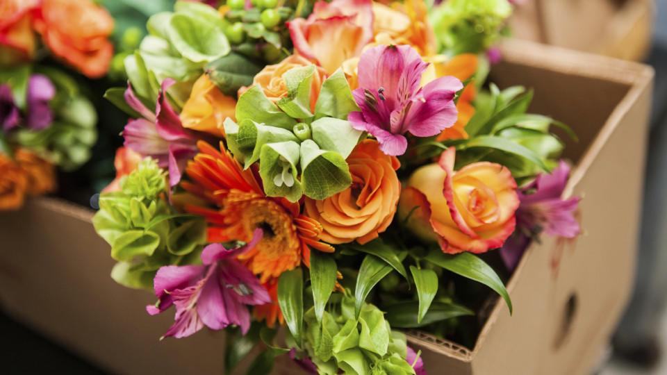 Das Geschäft mit den Blumen boomt.