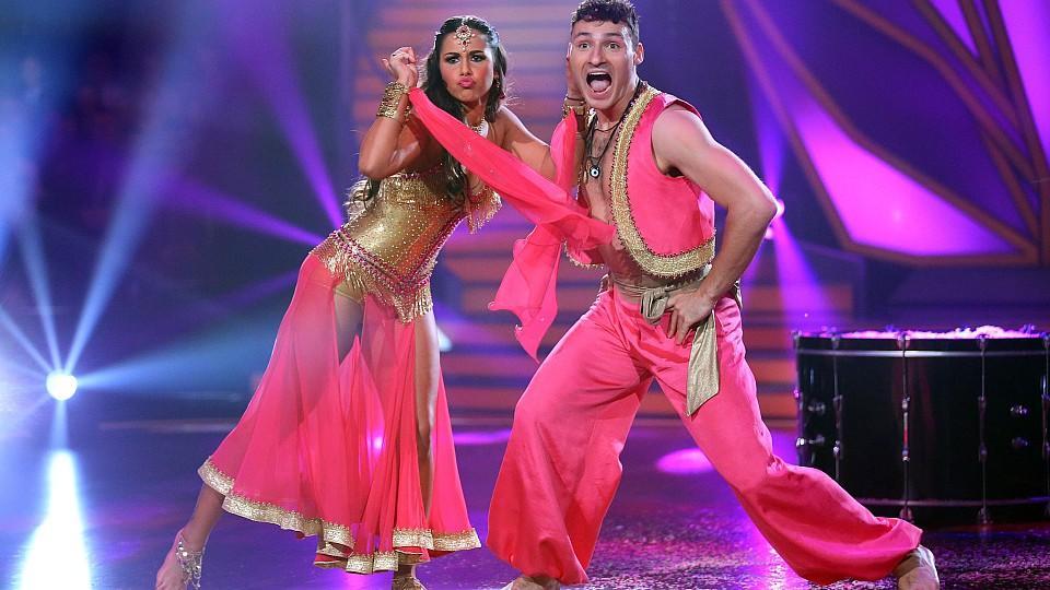 "Sarah Lombardi kann bei ""Let's Dance"" mit Bollywood punkten."