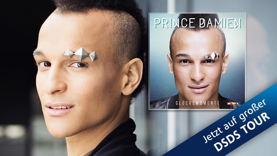 Das erste Album von DSDS-Gewinner Prince Damien ist ab dem 20. Mai 2016 überall erhältlich.