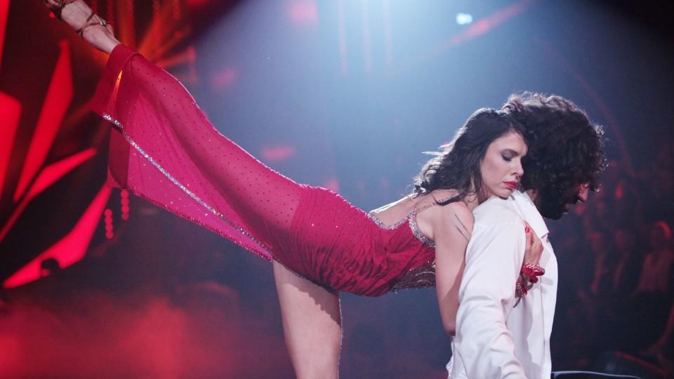 """Let's Dance 2016: Jana Pallaske und Massimo Sinató holen mit ihrer Fusion zu """"Hello"""" von Adele 30 Punkte"""
