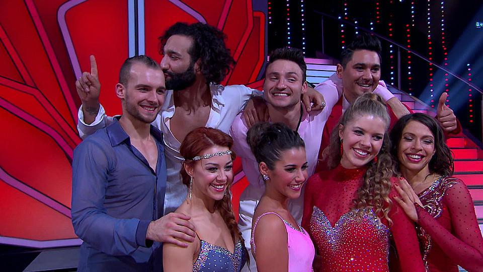 """Eric Stehfest, Jana Pallaske, Sarah Lombardi und Victoria Swarovski stehen im Halbfinale von """"Let's Dance"""""""