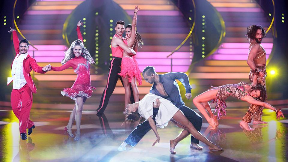 """Im Halbfinale von """"Let's Dance"""" kämpften vier Promis ums Weiterkommen."""