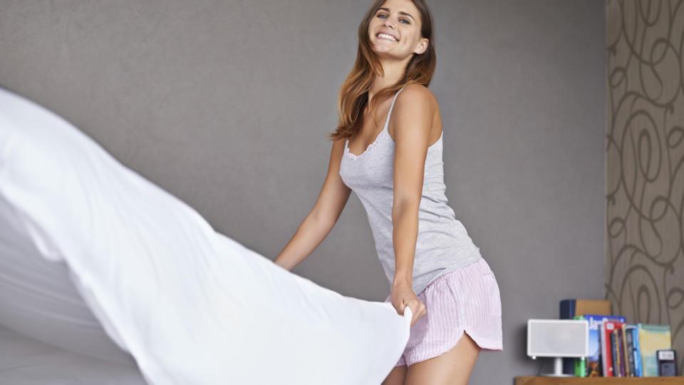 In diesem Rhythmus sollte Bettwäsche am besten gewechselt werden.
