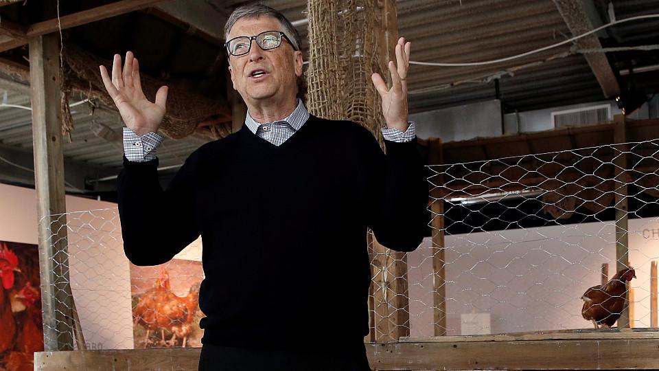 Im Kampf gegen Hunger und Armut spendet Bill Gates 100.000 Hühner