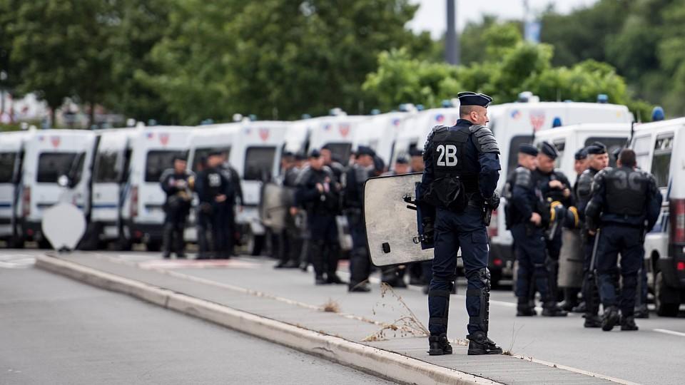 Deutsche Hooligans Lille