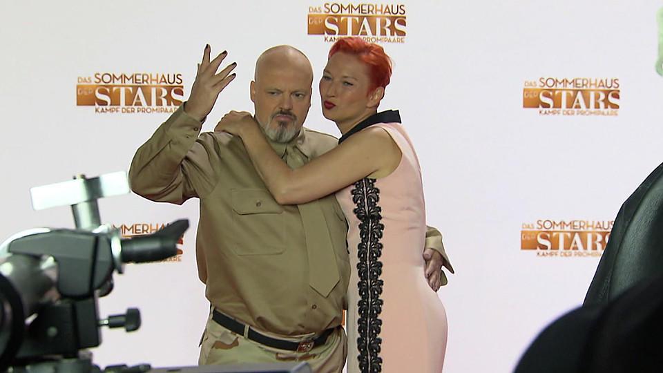 """Auch Hubert Kah und seine Ilona Magyar sind im """"Sommerhaus der Stars"""" dabei."""