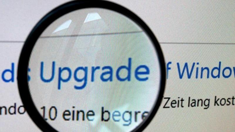 Microsoft rät zum Upgrade auf Windows 10. Aber lohnt sich das auch?Für die meisten Nutzer von Windows 7 und 8 lautet die Antwort:Meistens ja. Foto: Susann Prautsch