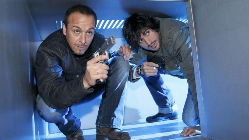 """Erdogan Atalay und Tom Beck sind mit """"Alarm für Cobra 11"""" für den Publikums-Bambi 2010 nominiert."""