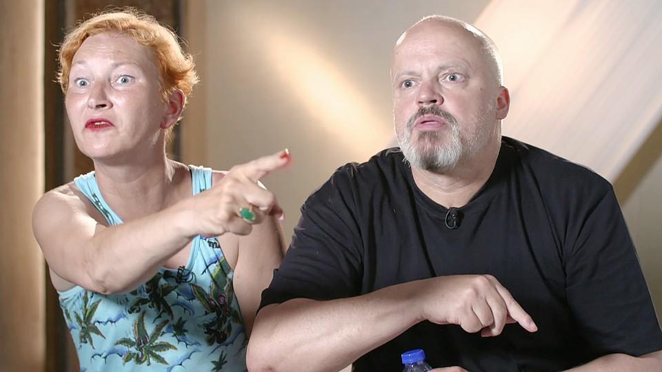 """Hubert Kah und Ilona Magyar verlassen das """"Sommerhaus der Stars"""" freiwillig."""