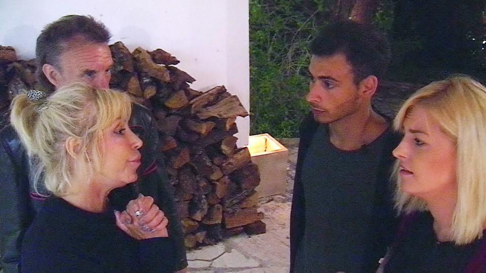 Das Sommerhaus der Stars: Maria Weller ist im Streit mit Rajab Hassan und Xenia Prinzessin von Sachsen.
