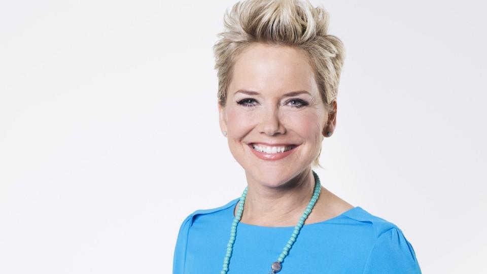 """Das Gesicht der RTL-Gameshow """"Familien Duell"""": Inka Bause."""