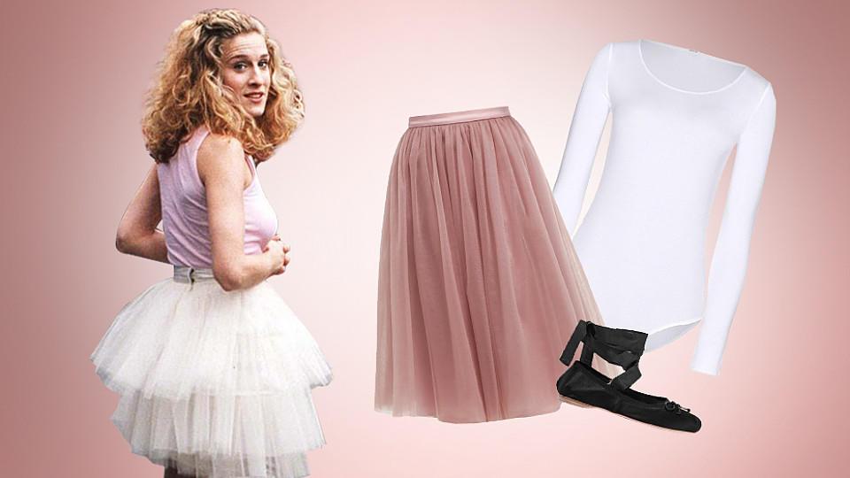 Carries Outfit im 'Sex and the City'-Intro ist legendär - jetzt wird der Look zum Trend.