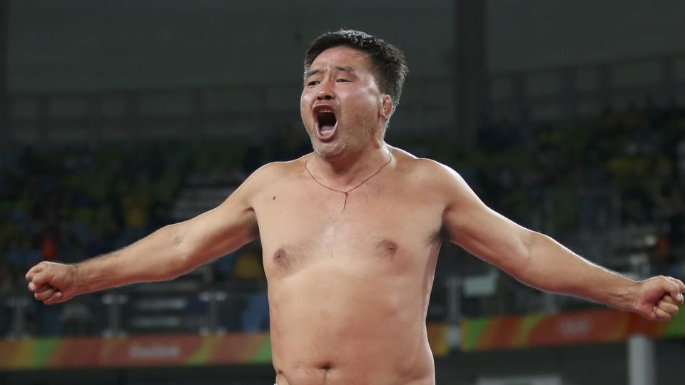 Nach der verlorenen Bronze-Medaille, waren die Trainer nicht mehr zu stoppen.