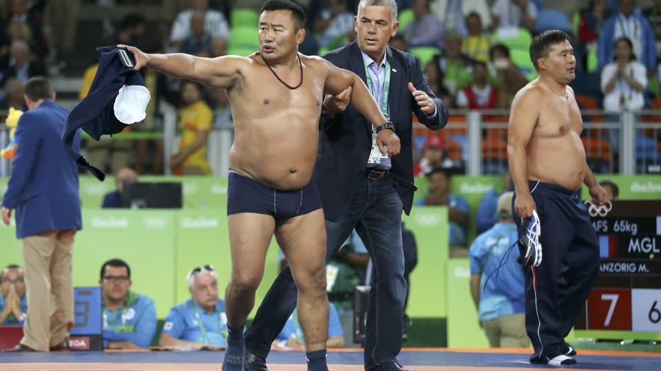 Mongolische Trainer