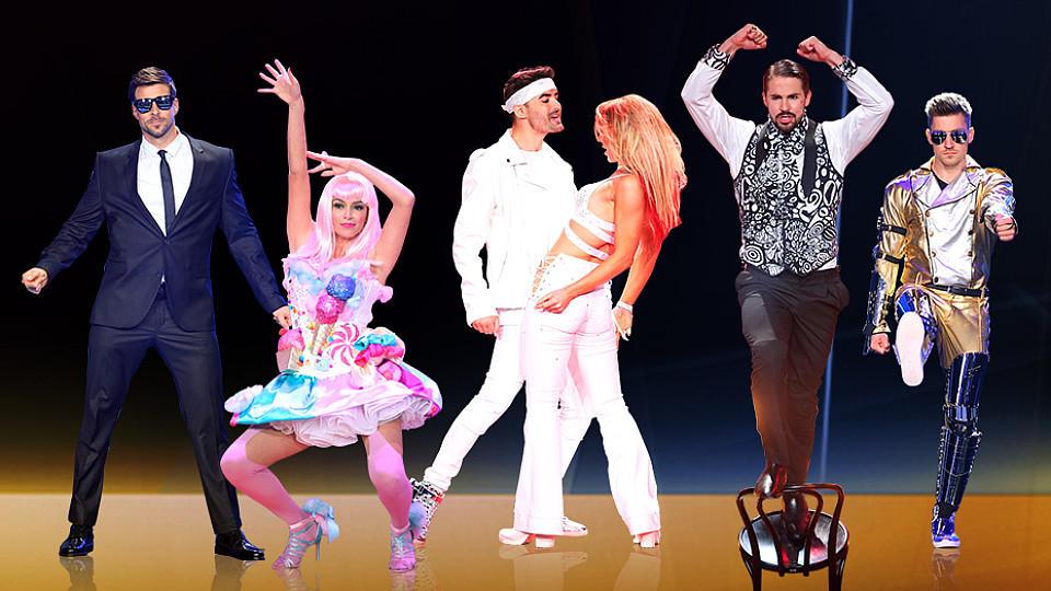 """Im Halbfinale von """"Dance Dance Dance"""" sind noch drei Duos im Rennen."""