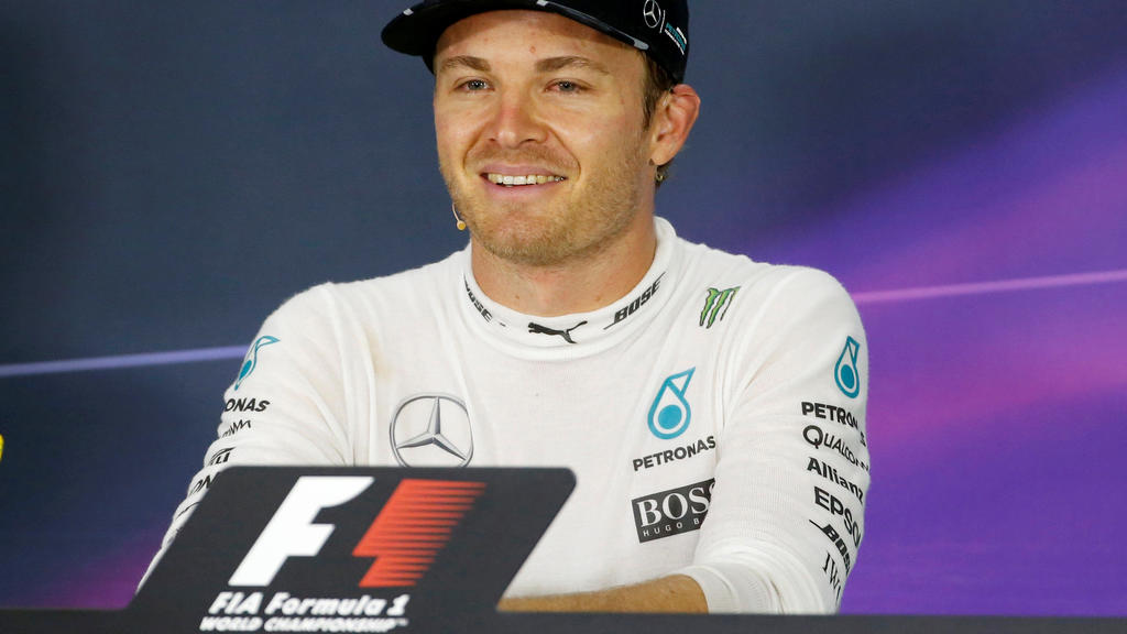 Formula One - Japanese Grand Prix - Suzuka Circuit, Japan- 9/10/16. Mercedes' driver Nico Rosberg of Germany attends a news conference after the race. REUTERS/Toru Hanai