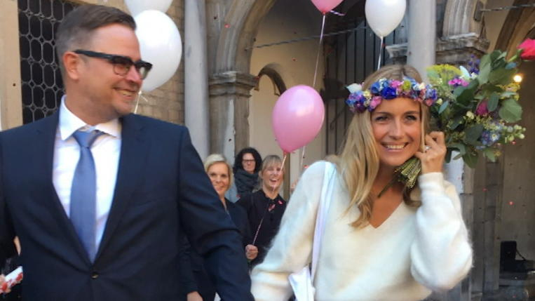 Moderatorin Susanna Ohlen So Perfekt Unperfekt War Ihre Hochzeit