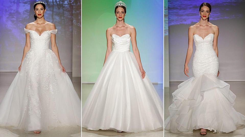 Disney Brautkleider 2017 Heiraten Wie Die Prinzessinnen Elsa Belle