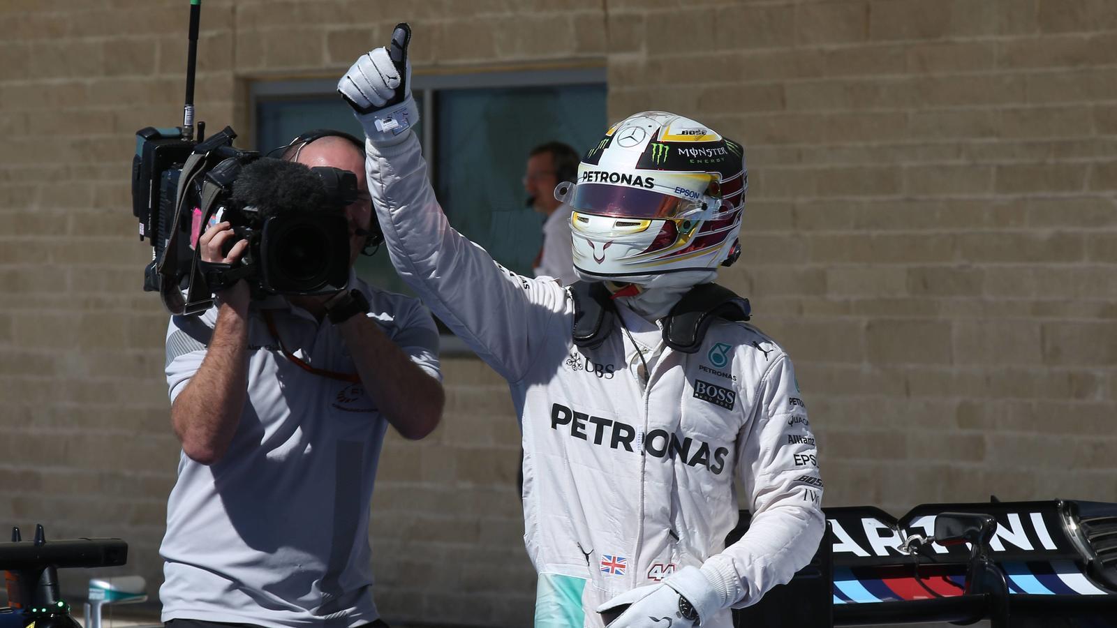 Lewis Hamilton beim USA-GP
