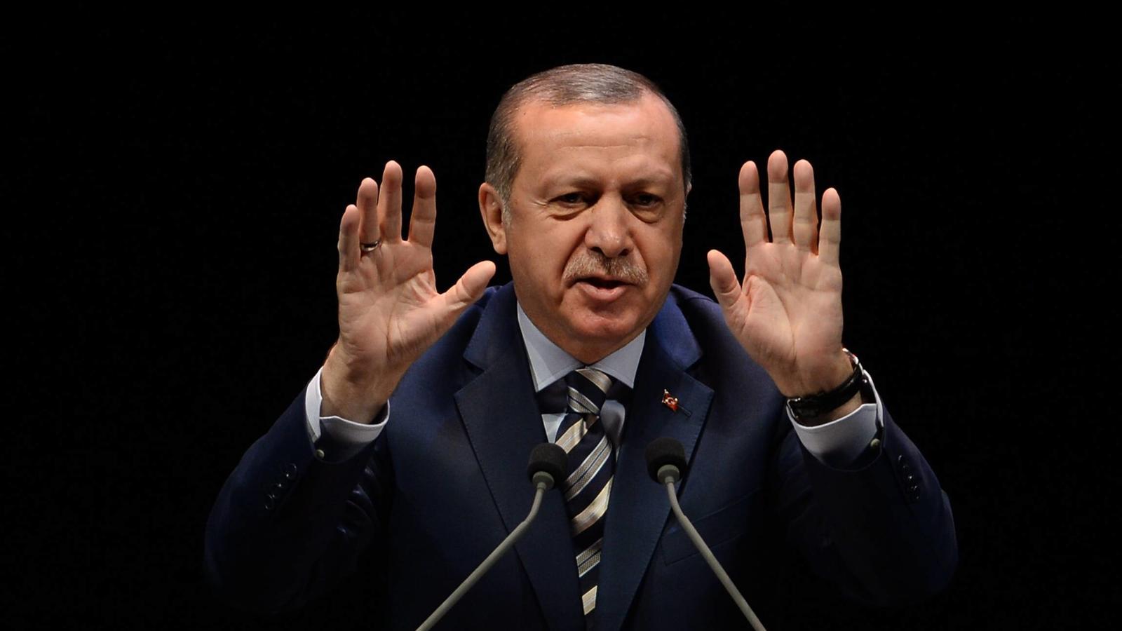 Der türkische Staatspräsident Erdogan wirft Deutschland Terror-Unterstützung vor