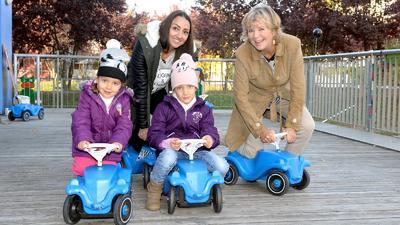 """RTL - Wir helfen Kindern""-Patin Mirja Boes in Sierra ..."
