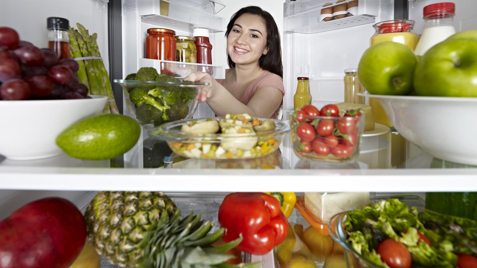 Kühlschränke sind Sammelstellen für Bakterien und Keime.
