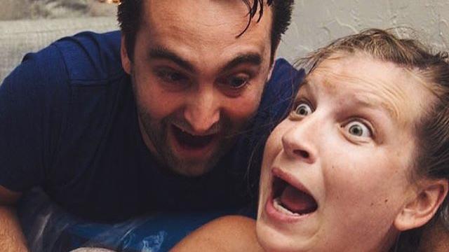 Kim und Travis Guiley waren ziemlich überrascht, als sie unerwartet einen Sohn bekamen.