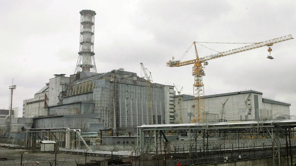 Atomreaktor Tschernobyl in der Ukraine
