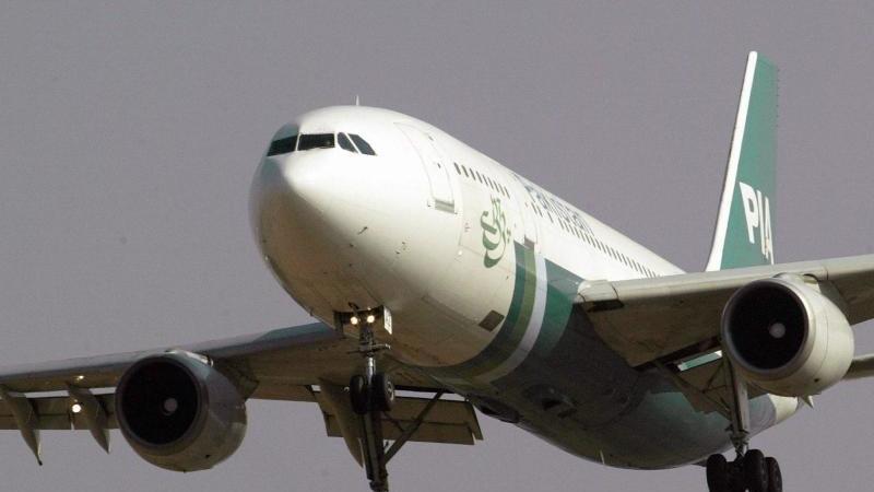 Symbolfoto: Ein Jet der Pakistan International Airlines.
