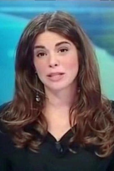 Slip moderatorin ohne Paola Ferrari