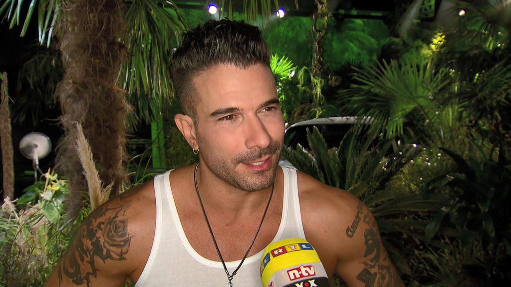 Sänger Marc Terenzi trifft im Dschungelcamp 2017 auf seine Ex-Freundin Gina-Lisa Lohfink. Ob das gut geht?