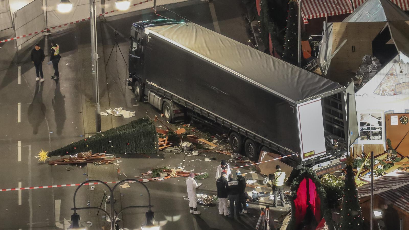 Terroranschlag am Breitscheidplatz in Berlin.