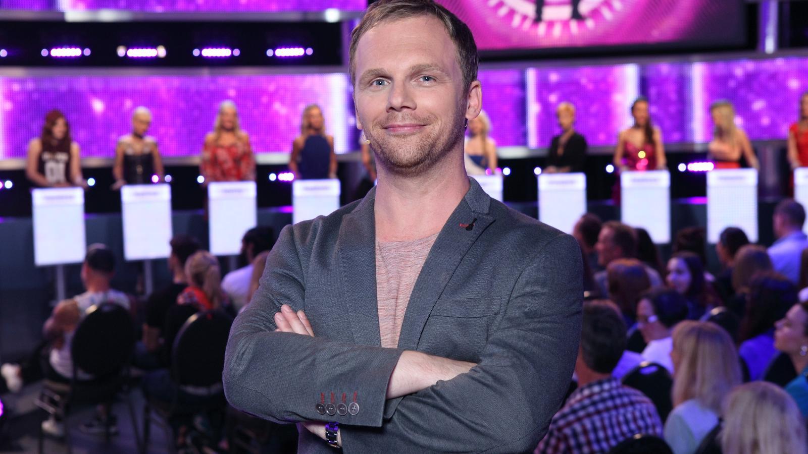 "Ralf Schmitz moderiert die Dating-Show ""Take Me Out""."