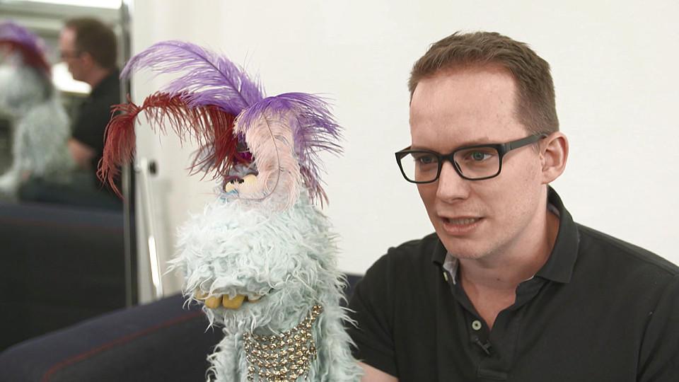 """""""Puppenstars""""-Juror Martin Reinl erklärt die Faszination von Puppen."""