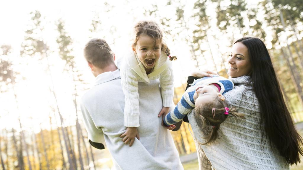 Familie und Freunde sind früh Geborenen besonders wichtig.
