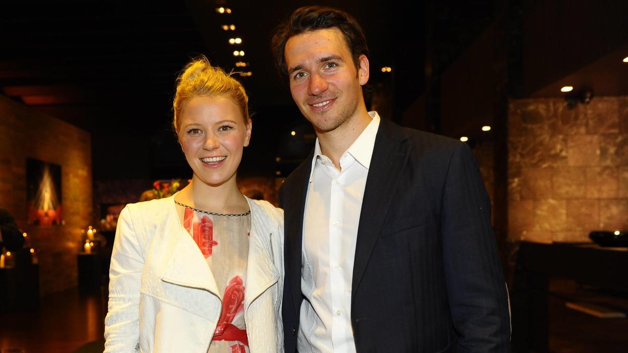 Felix Neureuther mit Freundin Miriam Gössner Felix Friends for Kids Friends Gala Sofitel Munic