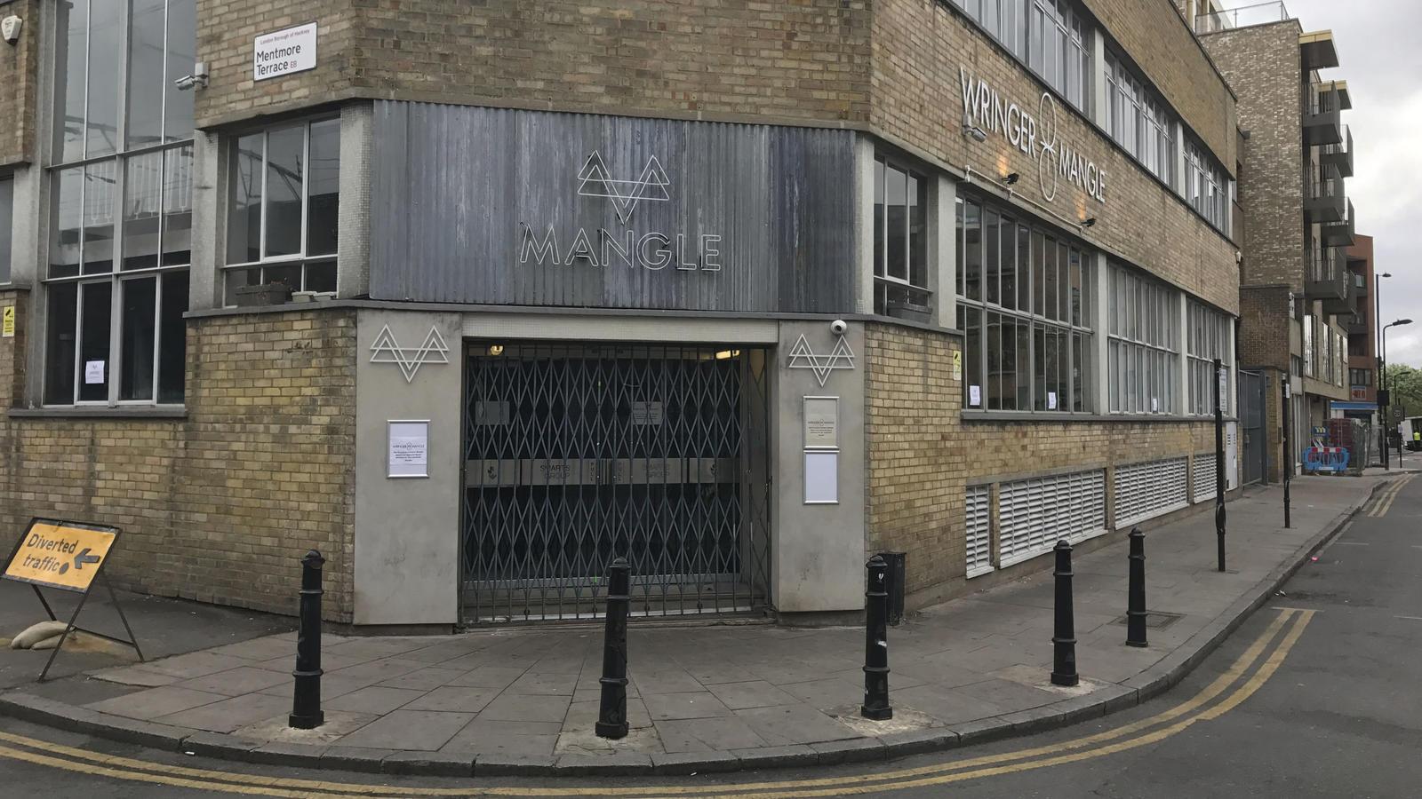 Im Londoner Nachtclub 'Mangle' hatten sich zum Zeitpunkt des Angriffs rund 600 Menschen aufgehalten.