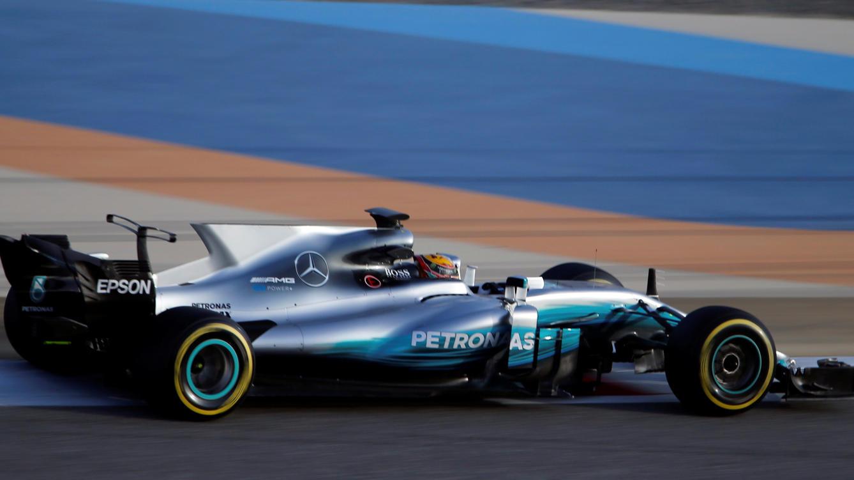 Lewis Hamilton war in Bahrain nach anfänglichen Problemen gut unterwegs