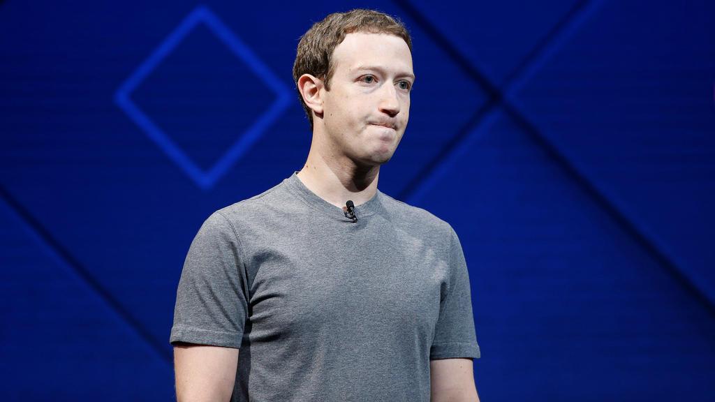 Facebook Gründer und CEO Mark Zuckerberg.