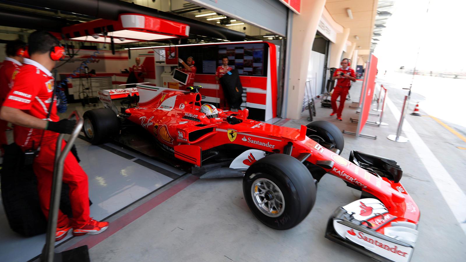 Im Gegensatz zum GP von Bahrain lief es bei den Tests an gleicher Stelle für Ferrari nicht rund