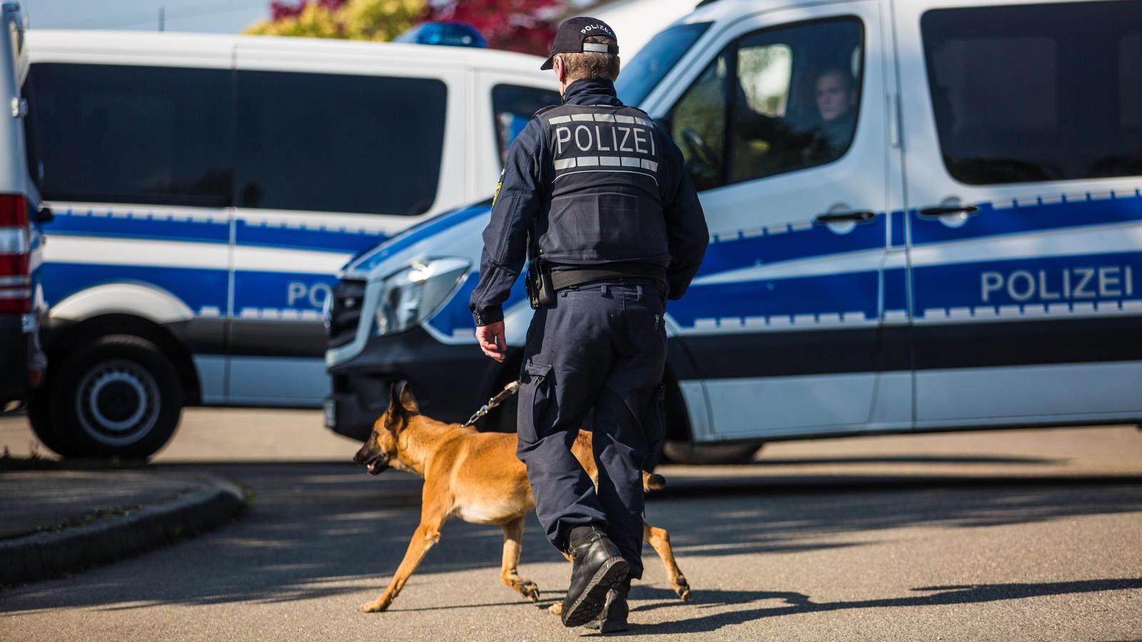 Symbolbild: Polizeihund aus Rottenburg am Neckar