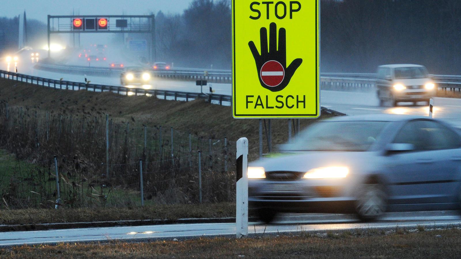 Dem 61-jährigen Geisterfahrer aus Belgien wurde der Führerschein entzogen.