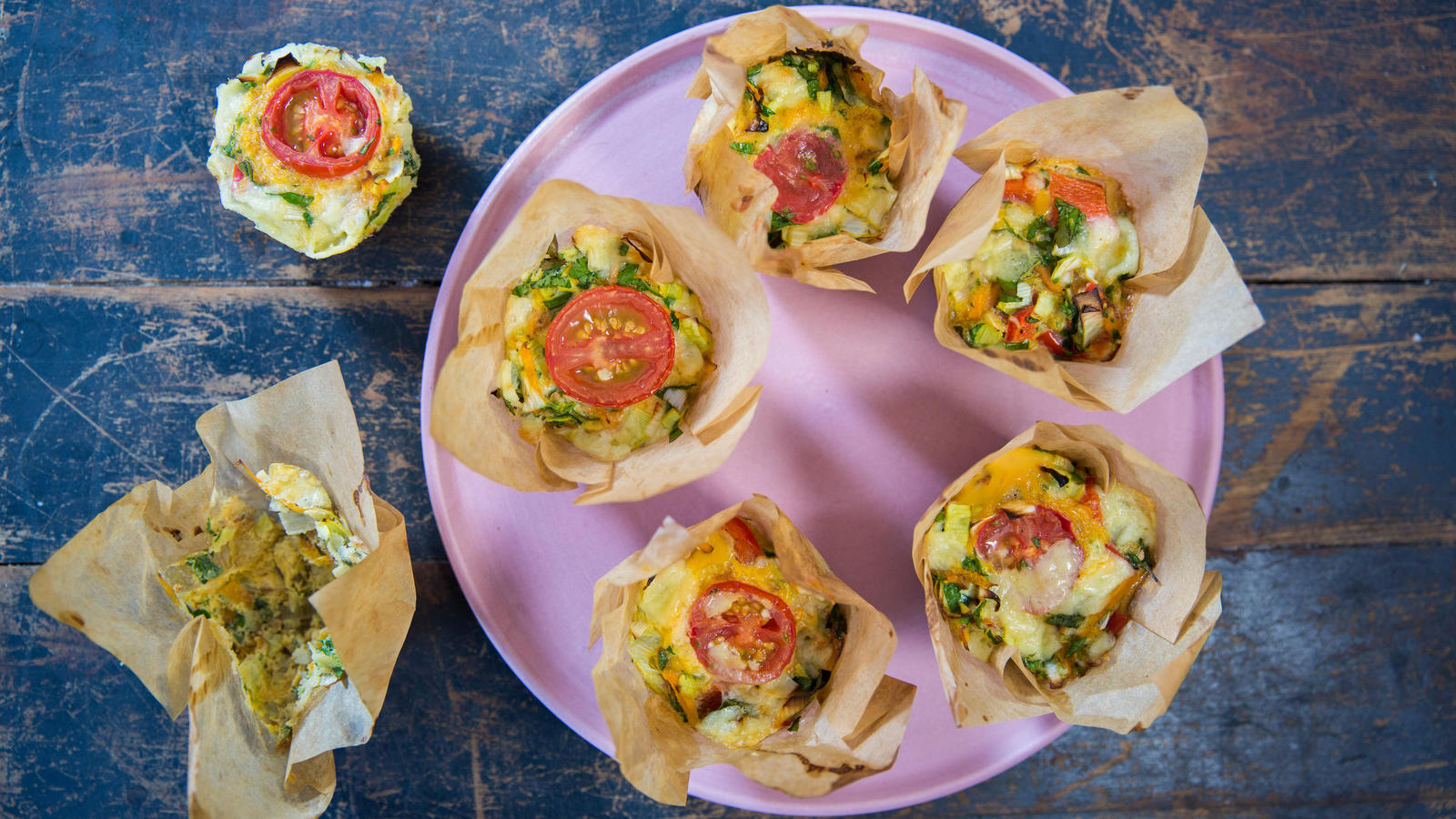 Picture Shows: Muffin frittatas