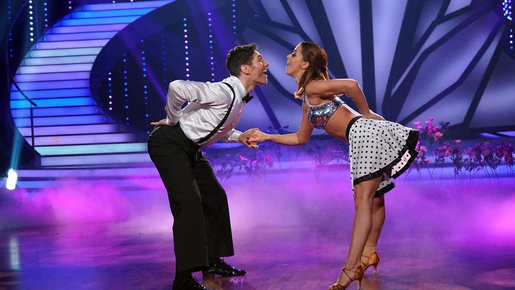 Vanessa Mai und Christian Polanc tanzen die Schlager-Fusion.