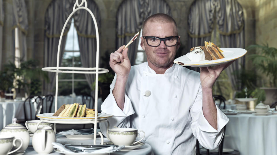 CHEF HESTON BLUMENTHAL FILMING IN SHROPSHIRE ON THE 16/1/14