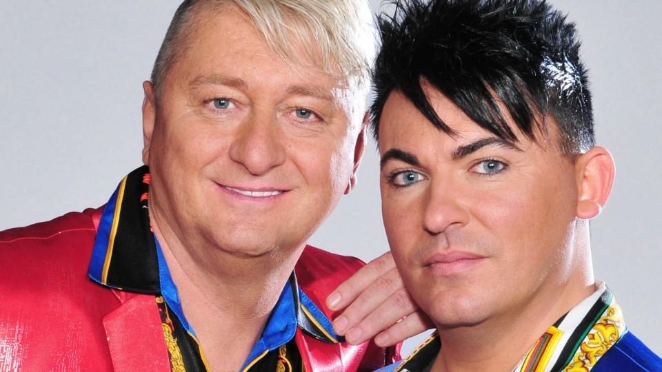 "Das ""Hot oder Shcrott""-TV-Paar aus Bayern, Hubert Falla und Matthias Mangiapane kämpft um den Titel ""DAS Promipaar 2017""."