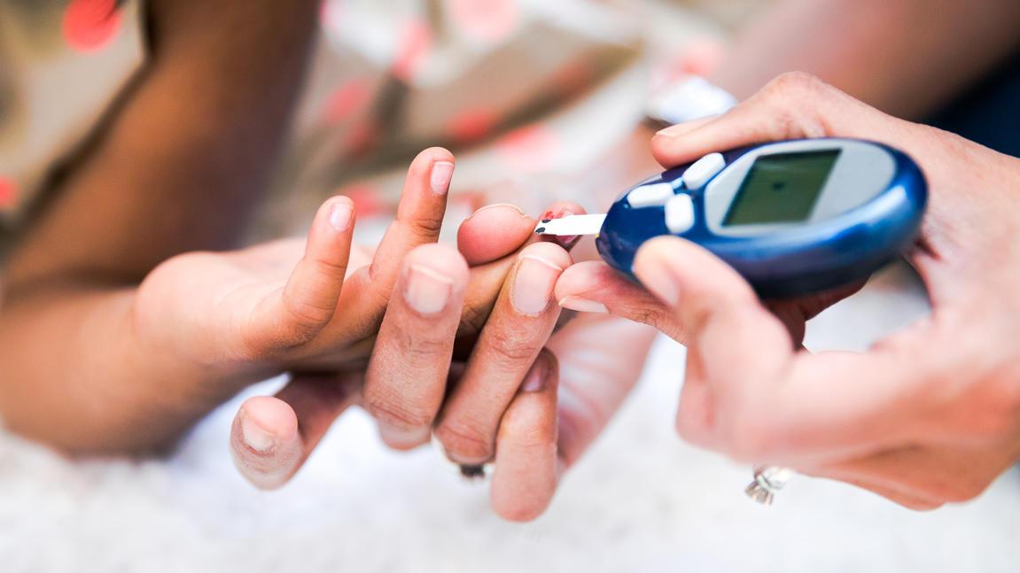 Viele Kinder leiden aufgrund schlechter Ernährung an Diabetes und Bluthochdruck.