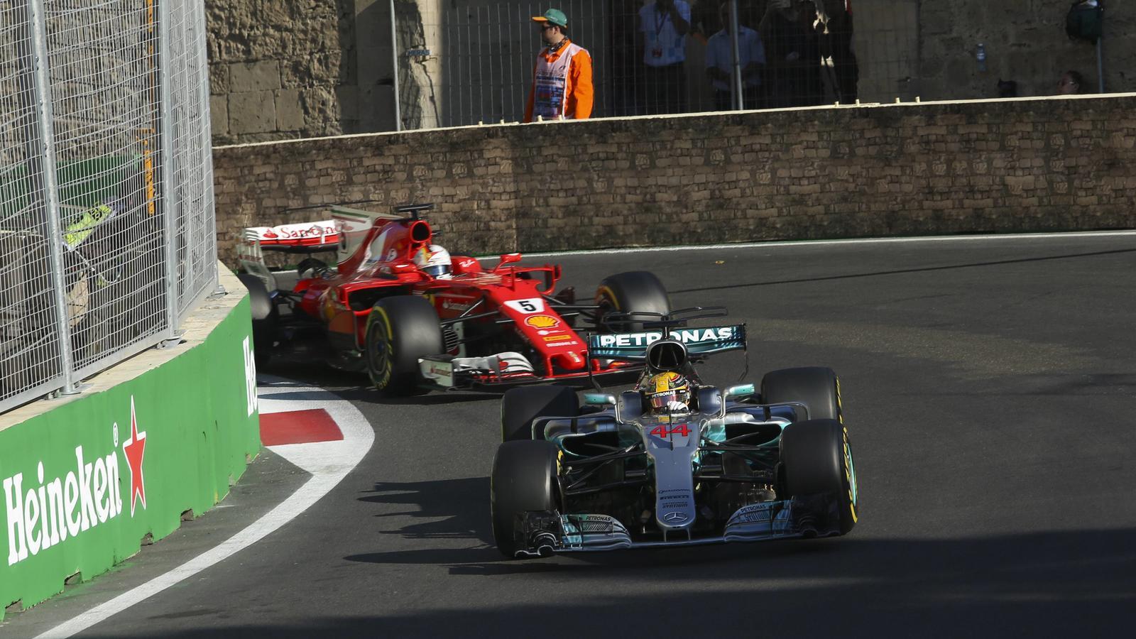 Das Baku-Spektakel zwischen Lewis Hamilton und Sebastian Vettel bringt die internationale Presse in Wallung.