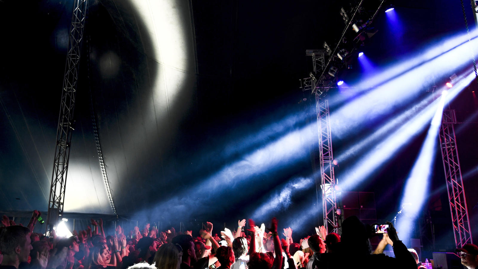 Das Bravalla-Festival am vergangenen Wochenende.